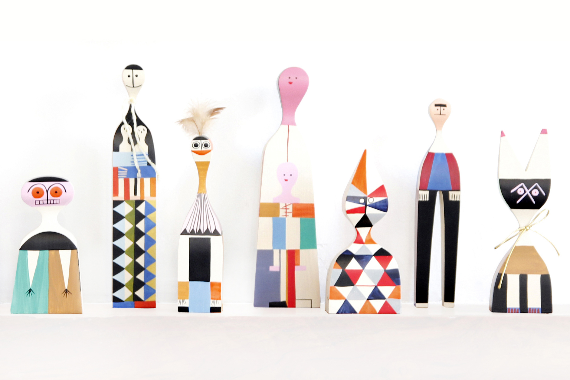 Alexander Girard's wooden dolls inspired us this week!