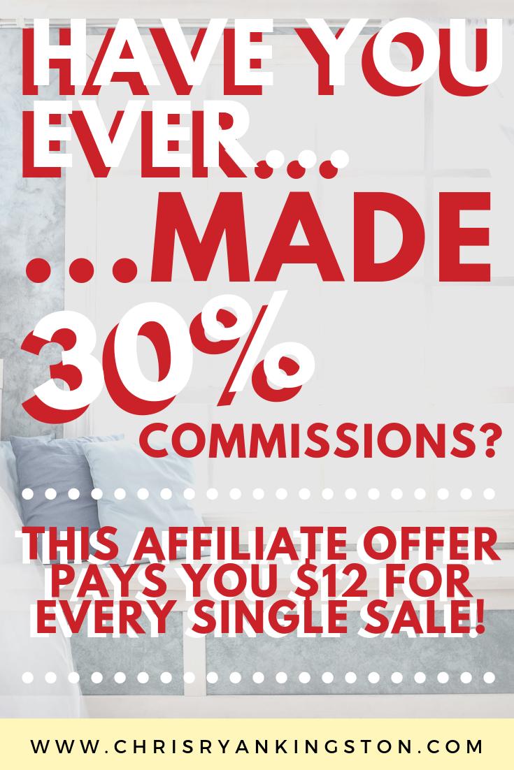 $100 pinterest affiliate offer