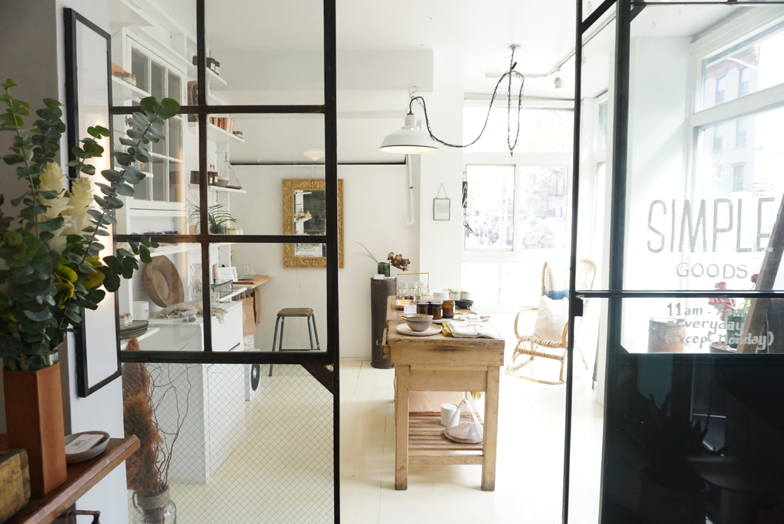 Simple Goods - A blend of french and local goods, curated for your home ( and you.) Neighbors to Simple Cafe