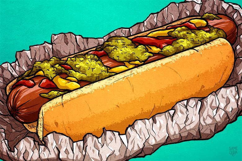 Ballpark Foods