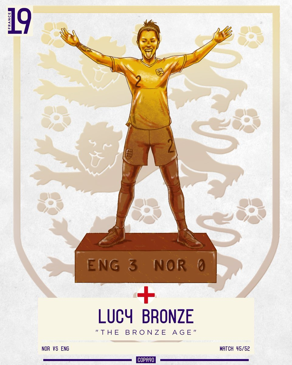 Lucy Bronze: The Bronze Age