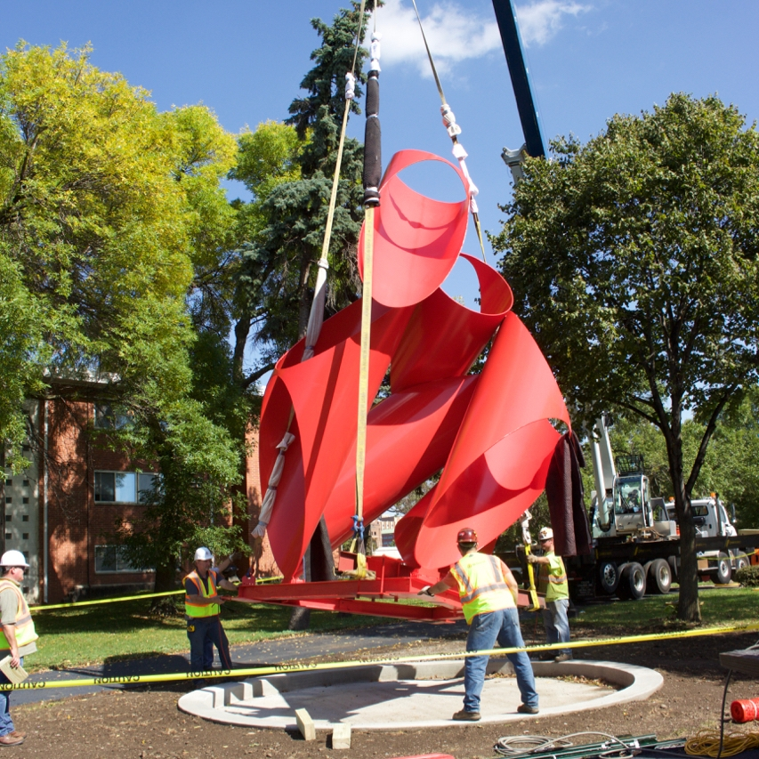 - outdoor painted sculpture conservation