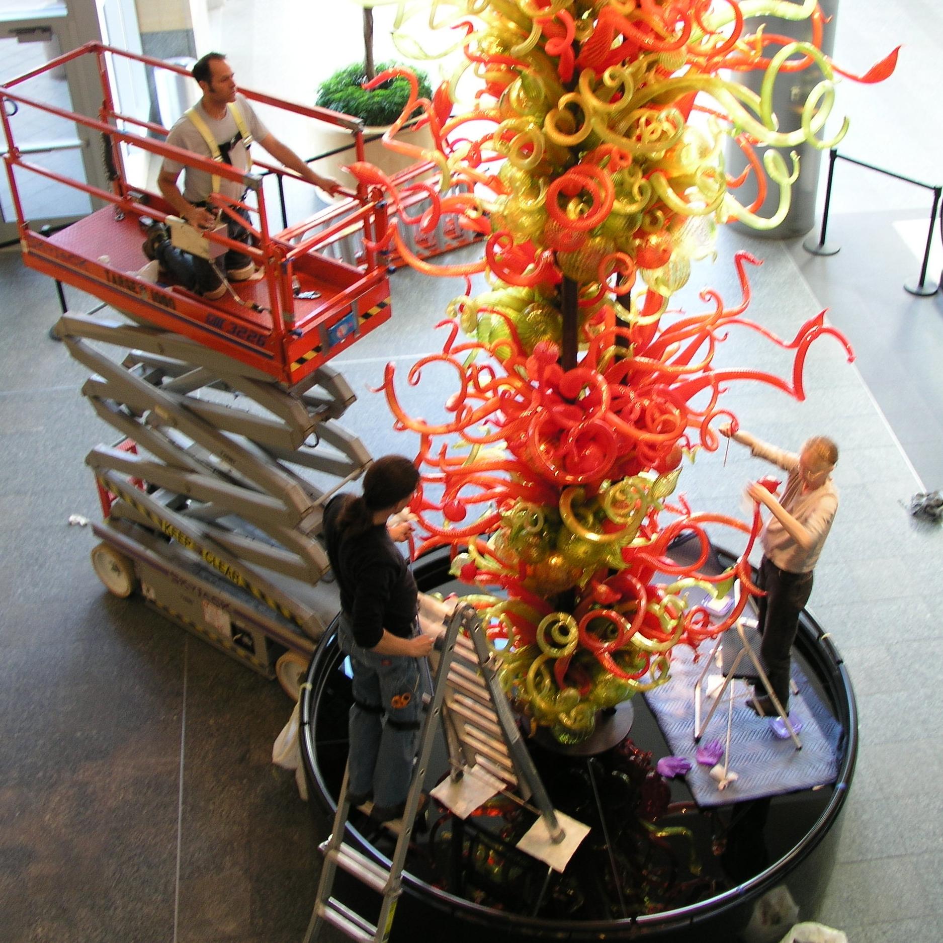 - modern & contemporary art conservation