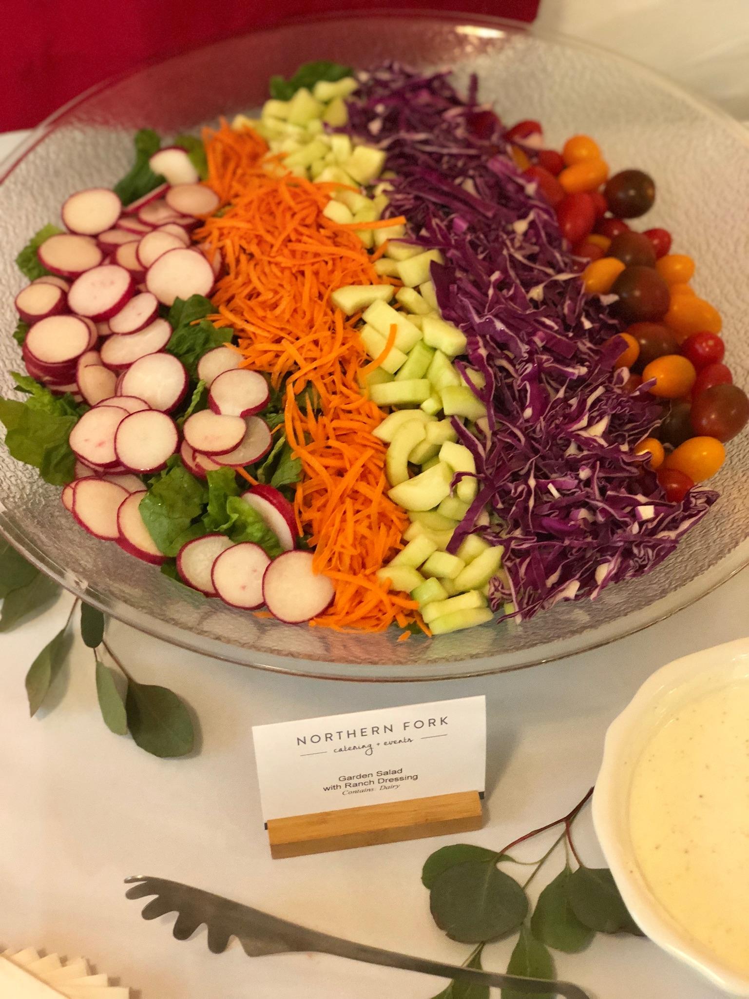 line & lee bridal shower salad