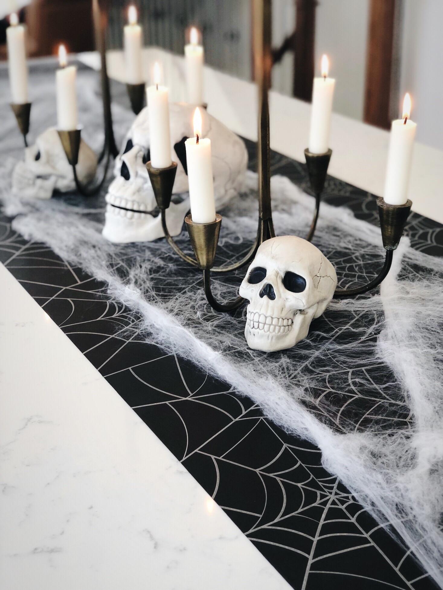 line & lee halloween centerpiece