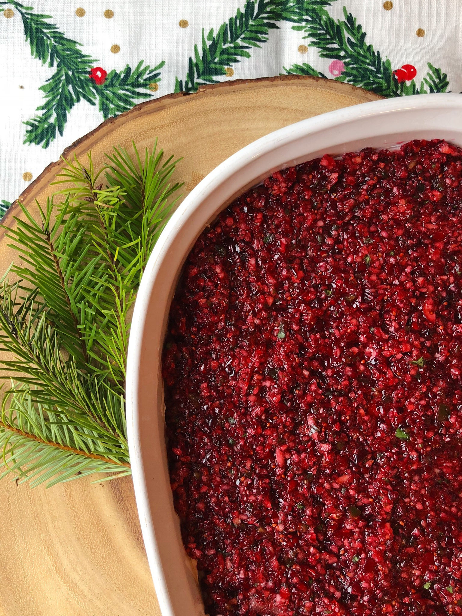line & lee cranberry jalapeño dip