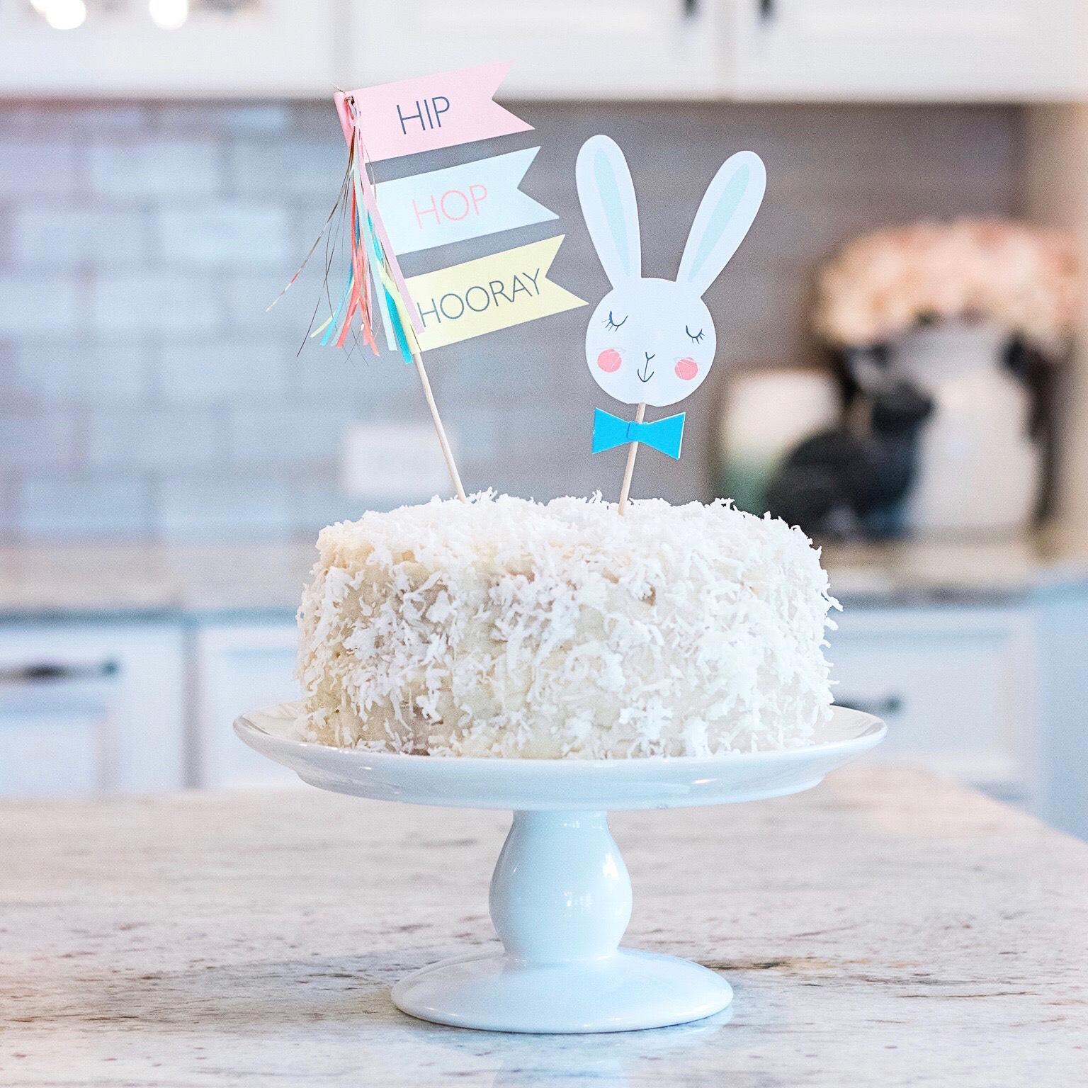 line & lee coconut cake