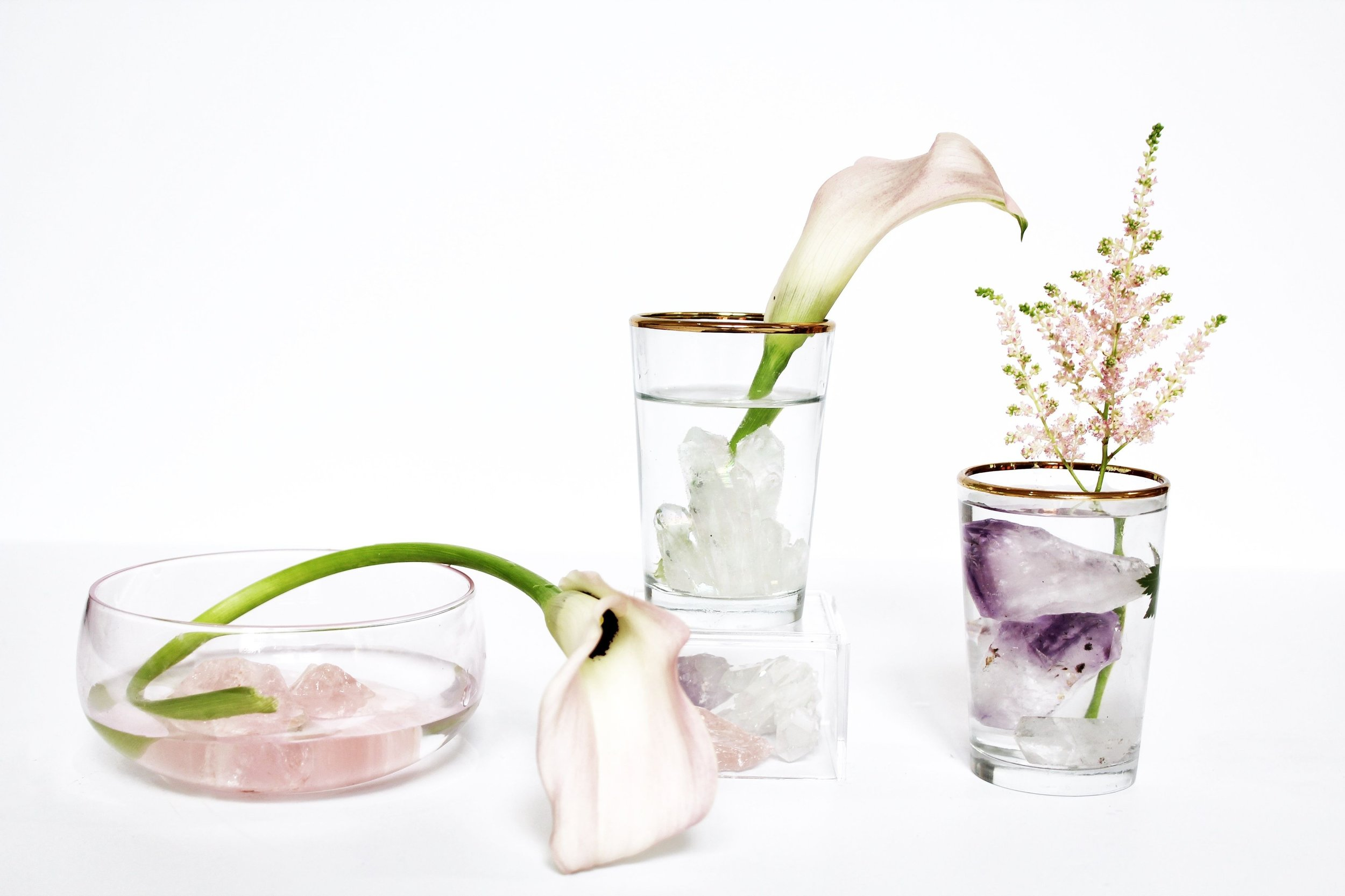 Flower arranging with crystals.jpg