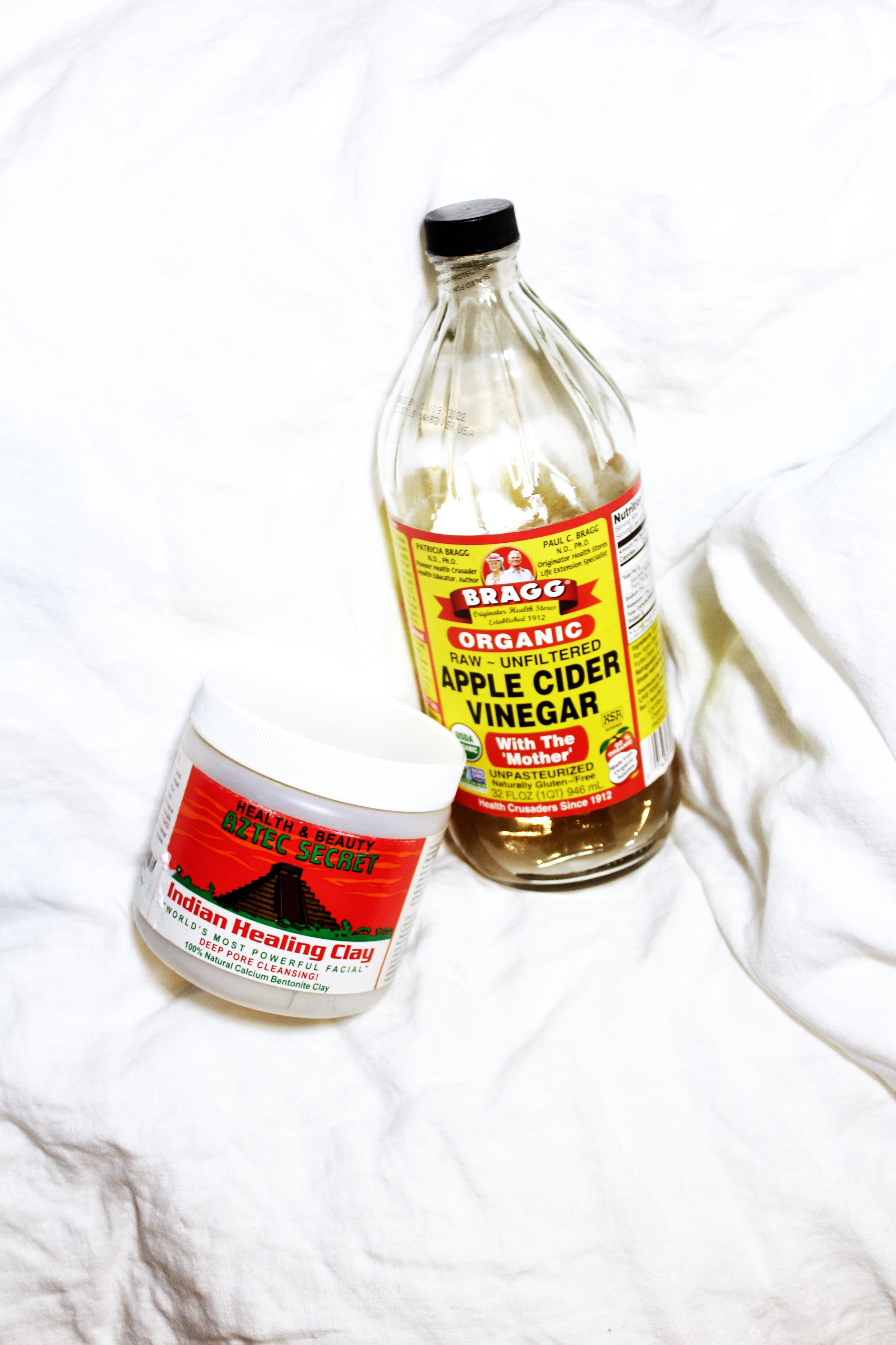 AZTEC CLAY MASK + BRAGGS ACV COMBO