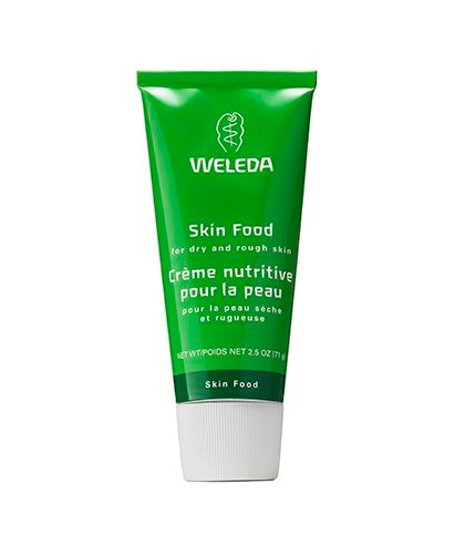 WELEDA SKIN FOOD - We get it. Skincare can be so very confusing. Polypeptides, antioxidants, secret broths, enzymes - reading about these products feels like decoding a secret language. There are times we just want a frill-free moisturizer that will hydrate our skin without irritating it with a lot of extra ingredients. And when we get that feeling, we want Weleda Skin Food healing (so, so sorry!). It's a basic balm in a boring tube but when you warm the cream on your fingers and press it onto your face (or hands, elbows, and feet), something pretty spectacular happens: your skin glows. And plumps. And looks so nourished you can't believe you only drank one glass of water the entire day.