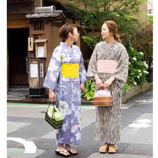 Traditional Summer Yukata (source uknown)
