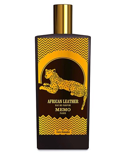 Memo African Leather - African Leather is a fragrance that will get you noticed. This is a unisex, woody scent that is warmed with notes of Cardamom and given a green twist with notes of Geranium. Wearers say it's not a traditional leather scent, but rather one that leads with a spicy, musky impression. It's one to try first; it truly melds with your body's chemistry to form a unique, personalized scent.