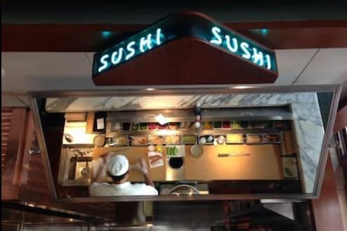 Sushi Bar at Hillstone in Coral Gables, Florida