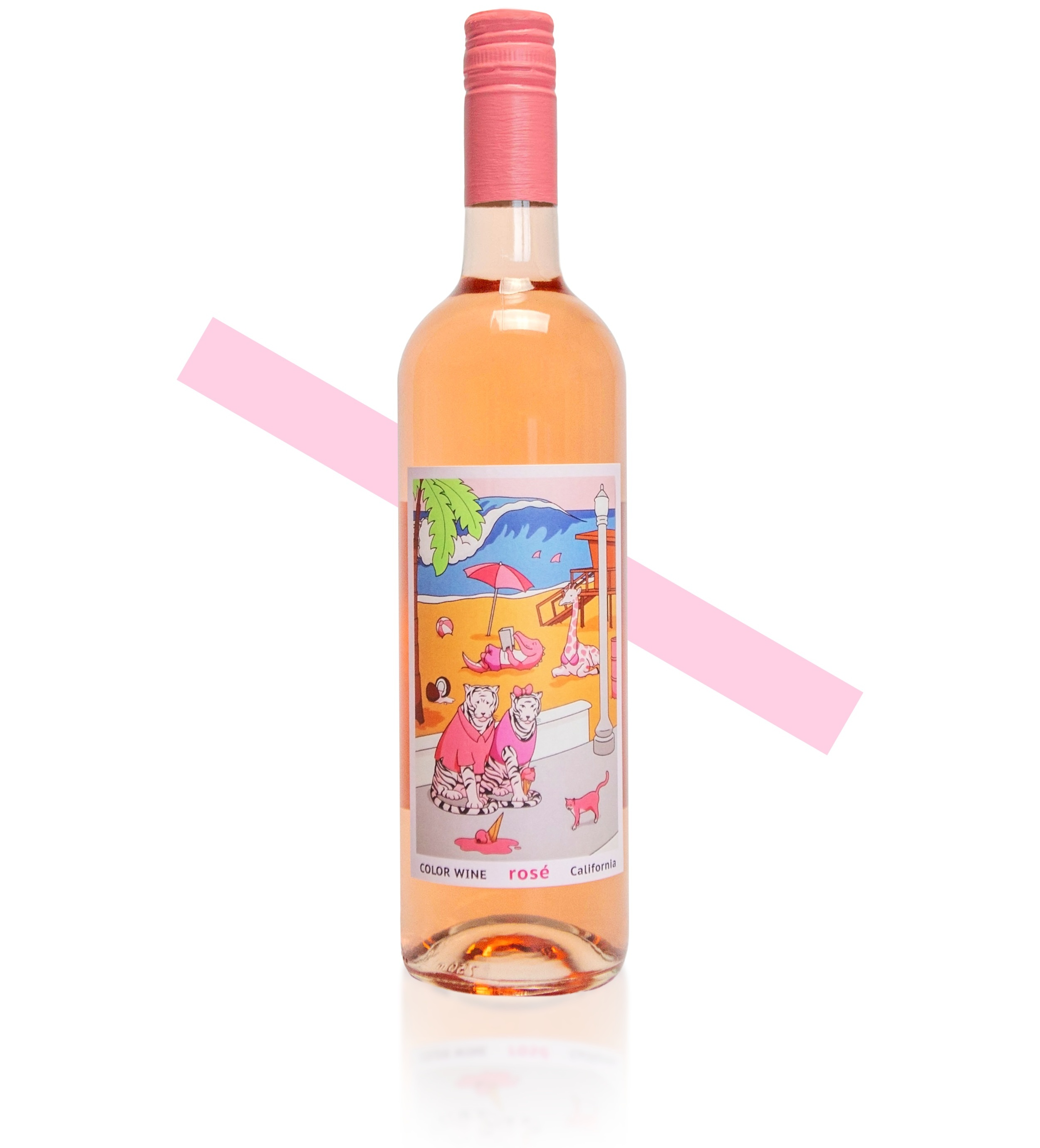 $15 rosé - Best Enjoyed:Chilled down and served on a boat, at the beach, or by the pool. The Chardonnay is all-time.Our Award-Winning ChardonnayBronze Medal winner at 2017 OC Fair Blind-Taste CompetitionSilver Medal winner at 2018 OC Fair Blind-Taste Competition