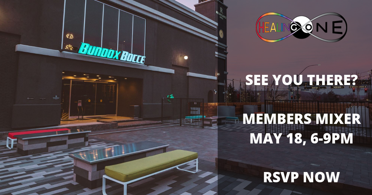 We Love You Members!    Our first members-only thank you event is coming up May 18 from 6 to 9PM. It's free for our members and their guests only. Join us for a night of fun and games at Bundox Bocce. We've reserved an area for you to enjoy food, mingling and getting to know your fellow Healing One members, staff, and healers. Attendance is free but bring $ for the bar.   Save the date and please RSVP as soon as possible so we can plan the final details.