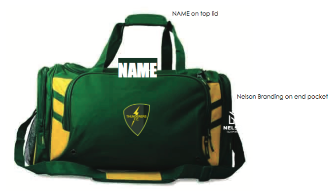 Sports BagBottle Green/Gold with Club LogoClub RRP $50.00 -