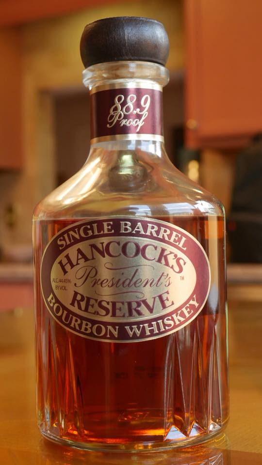 - Hancock's President's Reserve (HPR)Single Barrel. $49 at Total Wine. Bought this because it was my first time seeing this bottle on the shelf.HPR comes from the higher rye mashbill #2. Bottled at 88.9 proof.Tasted this Neat.Nose: alcohol up front. I let it breathe to get the apple, caramel, vanilla, and oak.Palate: Apple sweetness is predominate. To me, it is similar to ER with the added depth of rye and oak. Rye spice came through in the middle, but goes away abruptly. The finish is smooth and light with a lingering aftertaste of honey and vanilla.Overall, HPR reminds me of a mix of ETL, ER, and Blantons that has been watered down. This is a good introductory bourbon. Im a sucker for sweeter bourbons. With the scarcity of Blanton's (my go to drinker) at retail price, I will definitely stockpile a few HPRs for sipping and sharing. Not to mention the labels are Garnet and Gold Go Noles!--Henry P.