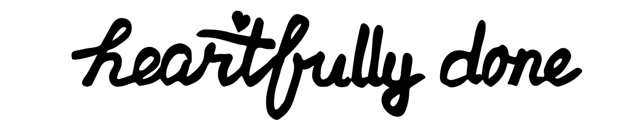 heartfully done logo