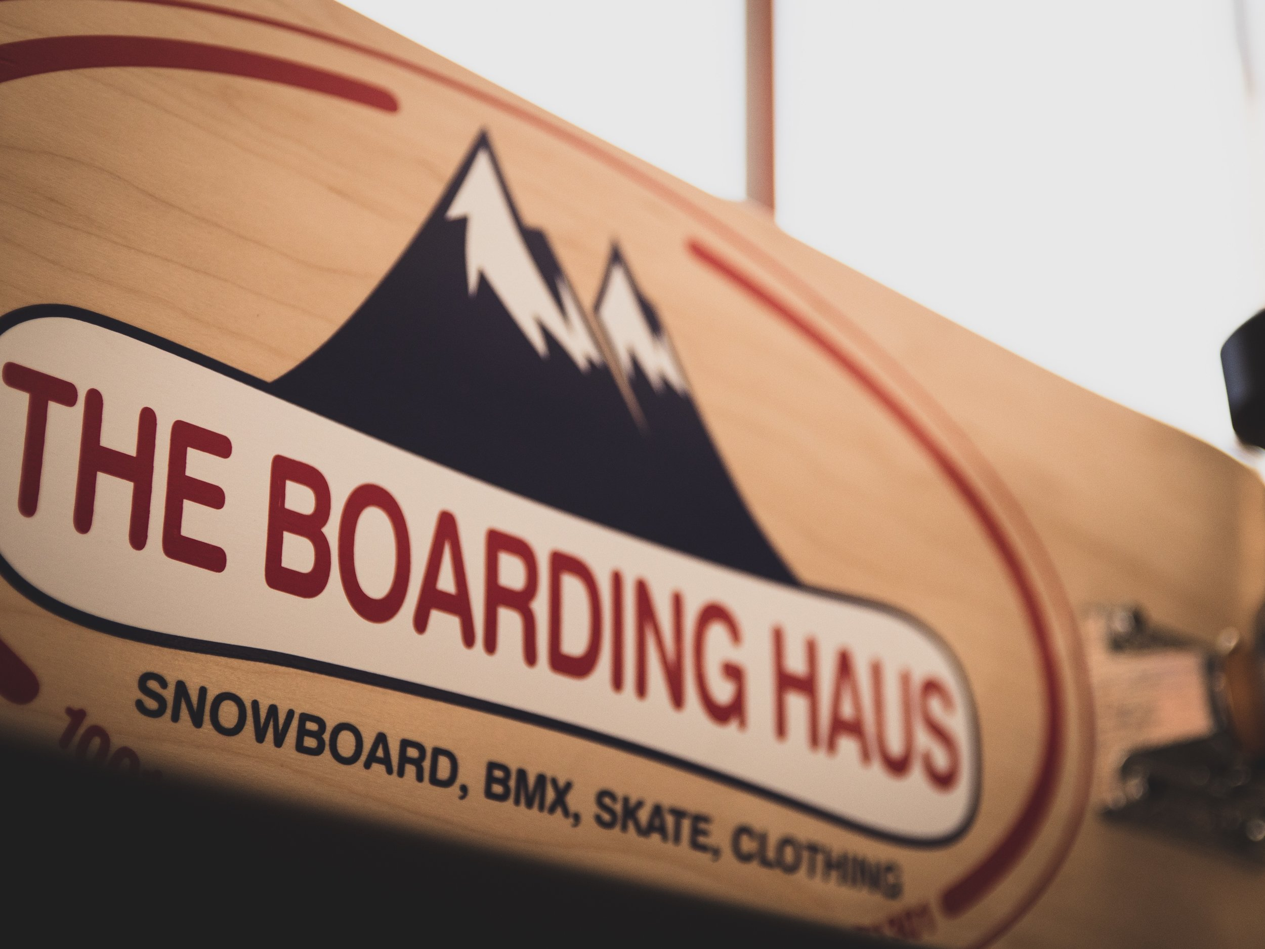 ESTABLISHED IN 1995, - THE BOARDING HAUS HAS BEEN PROVIDING UNMATCHED SERVICE AND QUALITY PRODUCTS SINCE DAY ONE. WE PRIDE OURSELVES IN HELPING TO PROMOTE A POSITIVE CULTURE FOR THE SKATE, SNOWBOARD, AND BMX WORLD.