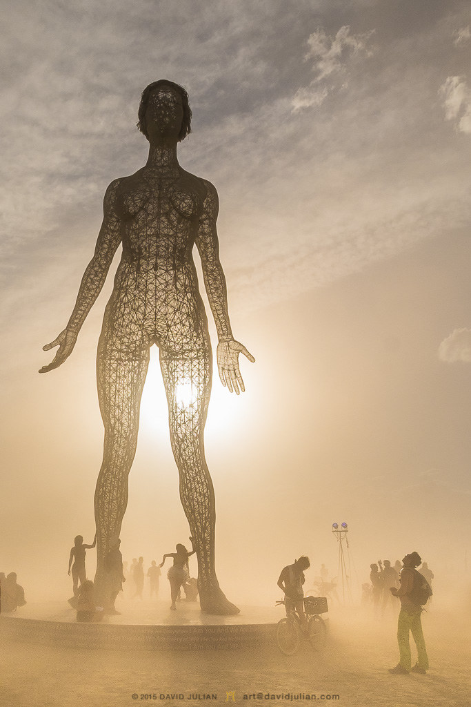 """Partnering with Burning Man artists to place """"R-Evolution"""" in Hallidie Plaza for high impact"""