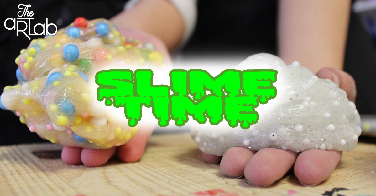 SLIME TIME - Cost: $29.99+HSTRecommended for ages 4 - 10 years old.Making slime is so much fun! But what a mess, am I right? Don't want to have to clean this up in your own house, but want to your child to indulge in the experience? Here's your chance!Combine and customize your very own batches of slime! Decorate a jar to take home your slime and let's have some fun!