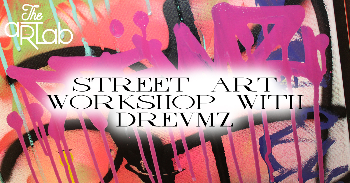 STREET ART WORKSHOP - Cost: $34.99+HSTHave you ever wanted to make your own street art inspired canvas? Don't know where to start? Let us help you! Workshop is designed for ages 13+In this 4 step workshop, you will be layering a 16