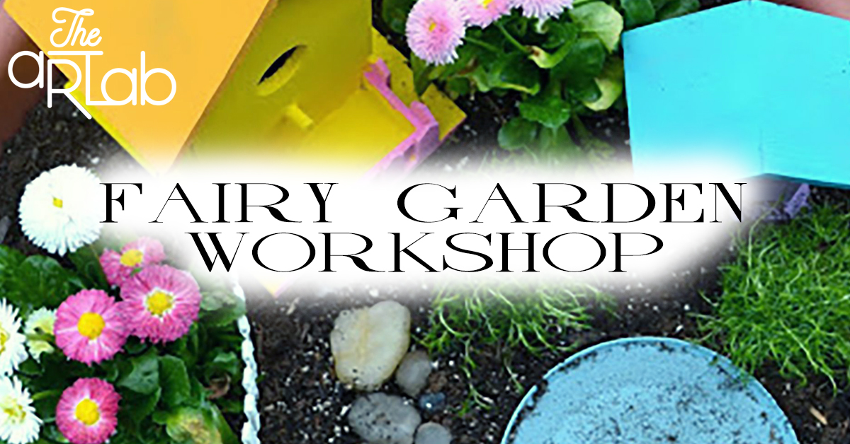 FAIRY GARDEN WORKSHOP - Cost: $22.99+HSTRecommended for ages 5-10 years old.Our Fairy Garden workshop is so magical! Join us as we make fairy wands, a very cool fairy house garden scene, and fairy dust necklaces!