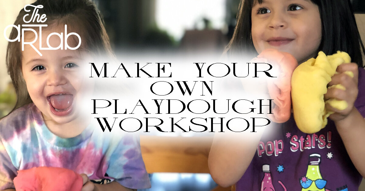 MAKE YOUR OWN PLAYDOUGH - Cost: $15.99+HSTSign up link: https://app.acuityscheduling.com/schedule.php?owner=16340098&appointmentType=11390988If your kids are anything like ours, they cannot get enough of playdough play! It's super squishy, comes in so many beautiful colours and helps children practice critical development skills. Not only can they practice their fine motor, sensory play, creativity and language skills but it can also be a therapeutic, soothing activity. Recommended for ages 5+