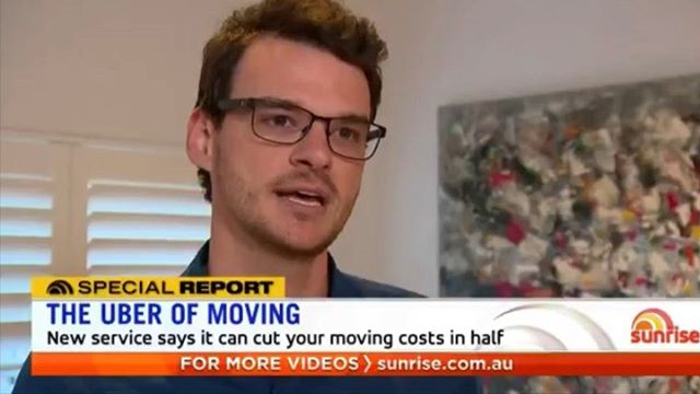 What a way to start the day, watching Muval co-founders James Morrell & Mahdi Chardi on Sunrise!  Swipe for BTS ➡️