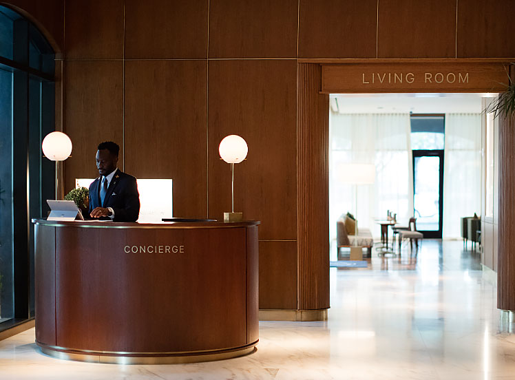 The Concierge. Photo by the hotel.