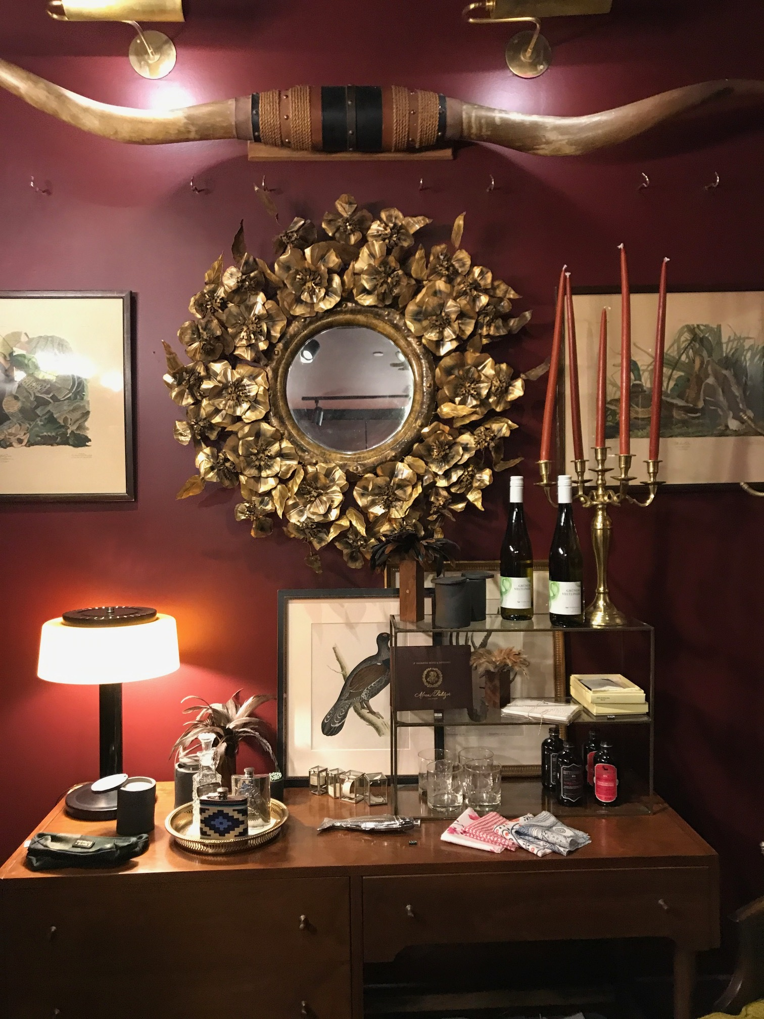 Garden & Gun magazine has a boutique in the lobby with amazing curated goods.