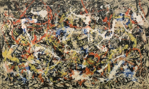 Jackson Pollock, master of line and flow