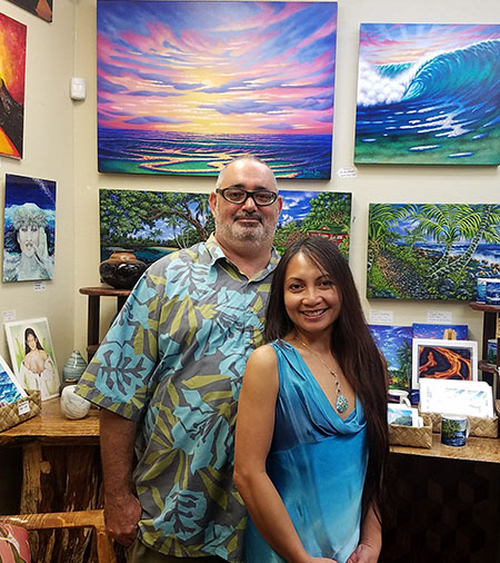 Our Mission - Puna Gallery and Gift Emporium serves as your one stop shop of the highest quality arts and gifts perfect for ANY occasion.We've hand selected the best the Big Island has to offer. With a wide selection of glassware to jewelry, from coffee to clothing, from hand-crafted tables to bowls, from fine arts to prints.Visit Us Today