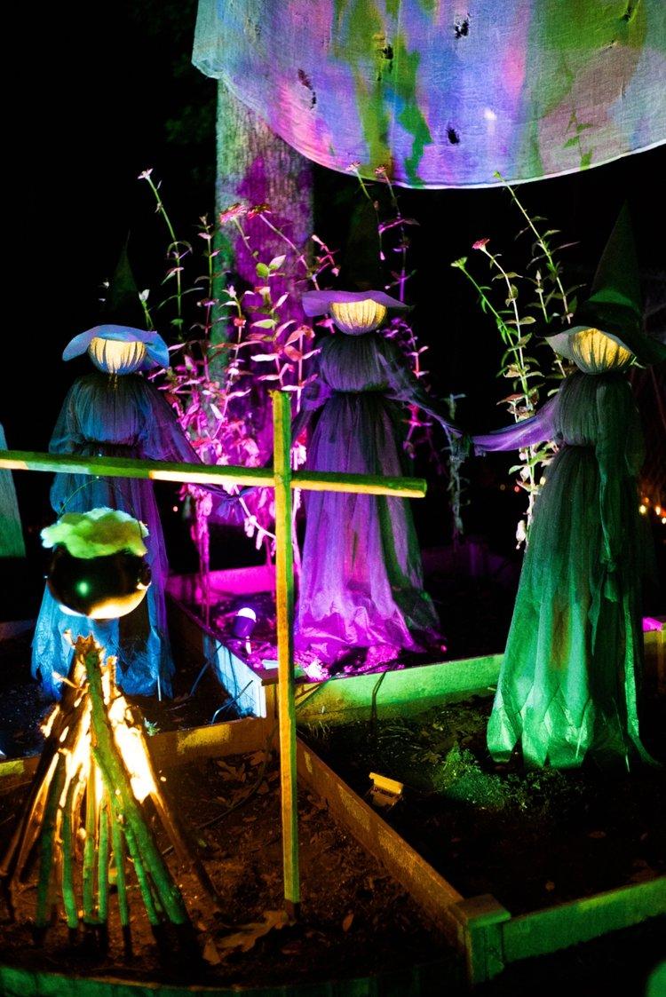Hocus Pocus Grandin Road Witches Yard Halloween Decor