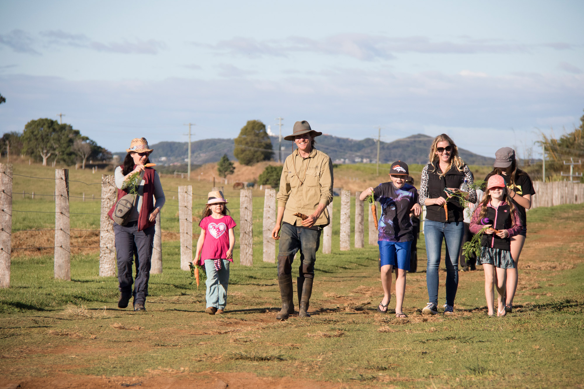 walking - farm tours