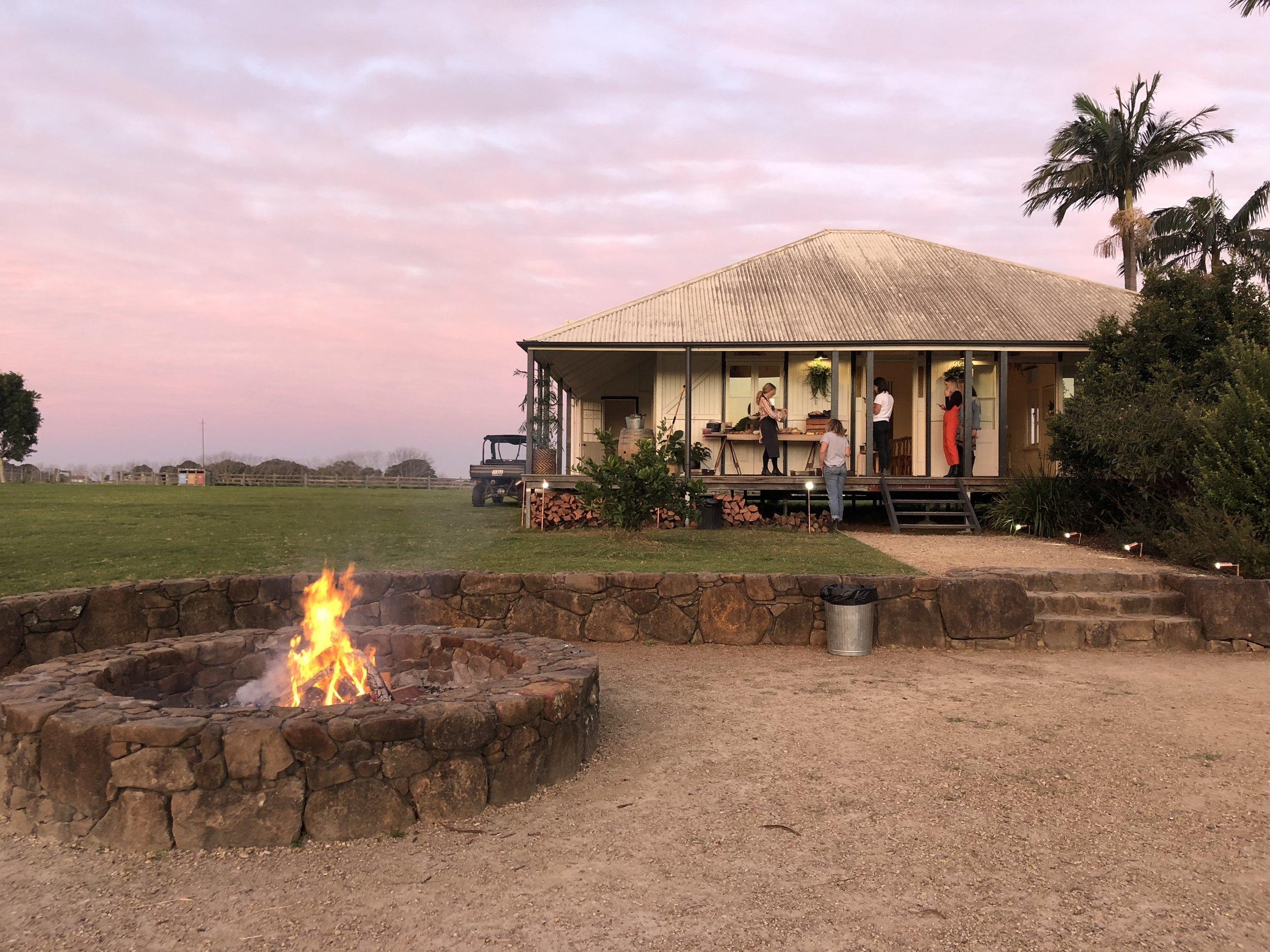 Farm House_sunset_The Farm.JPG