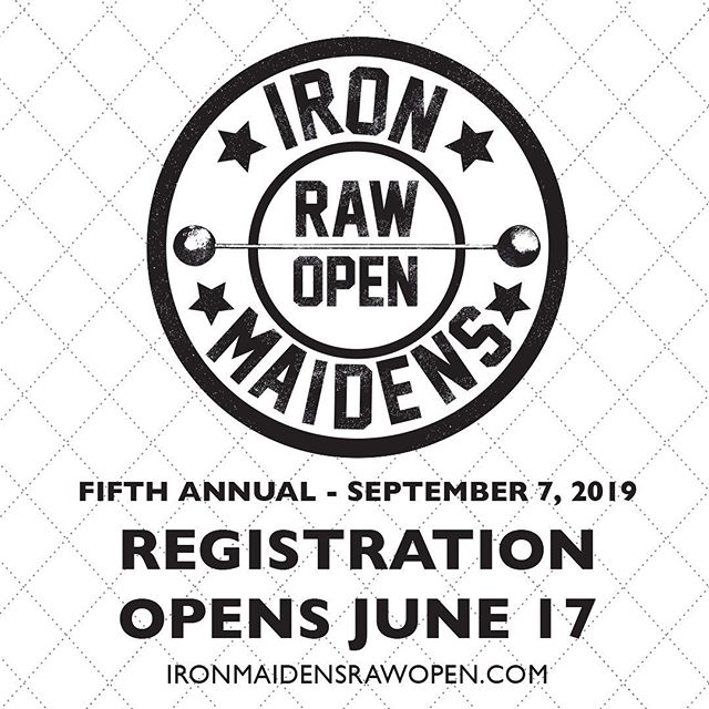 Save the date! We're excited to announce that registration for the fifth annual Iron Maidens Open starts on June 17th. @graceoutreachbx @crossfitsouthbrooklyn #IMstrong2019
