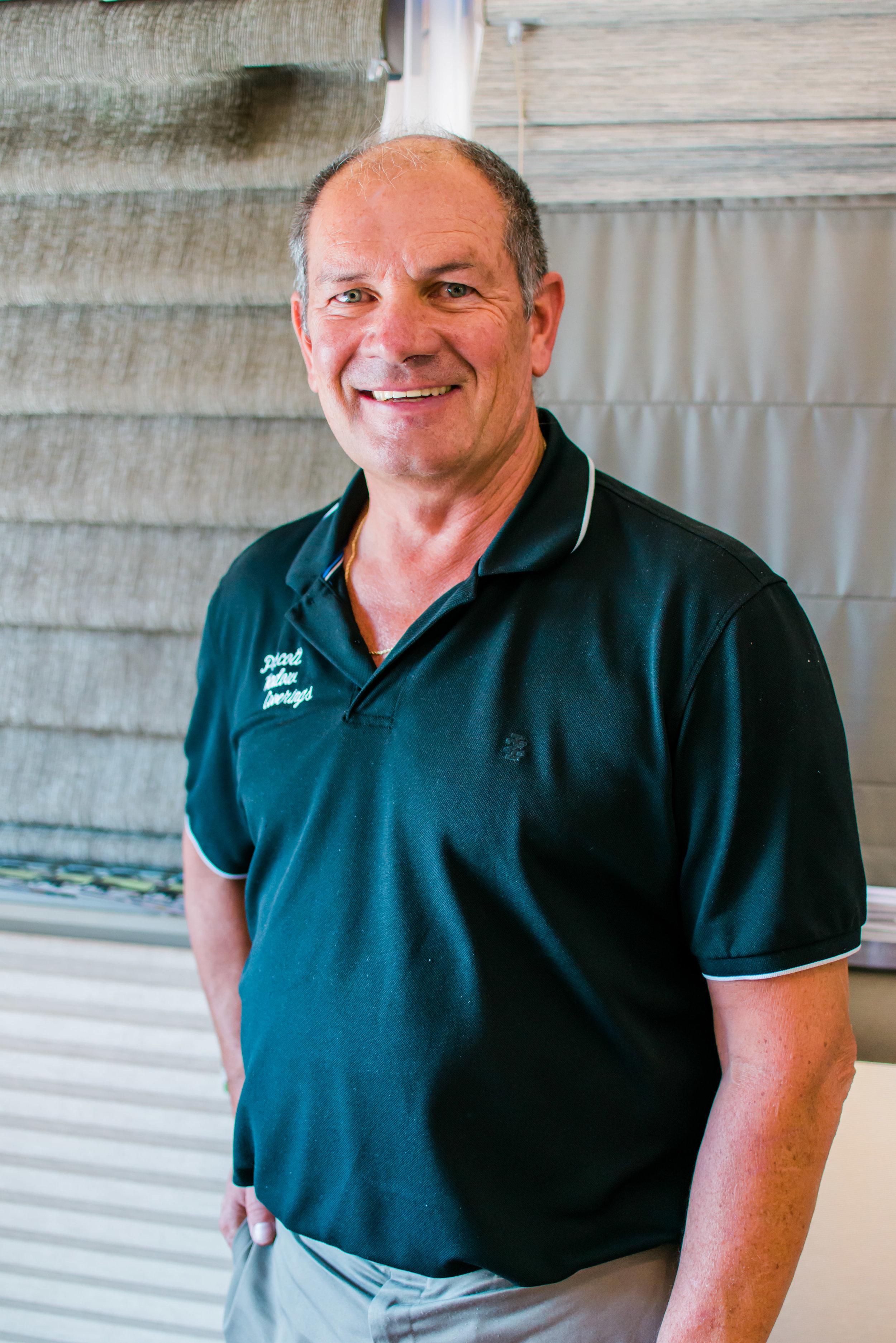 Tom Binkley - Owner of Prescott Window Coverings