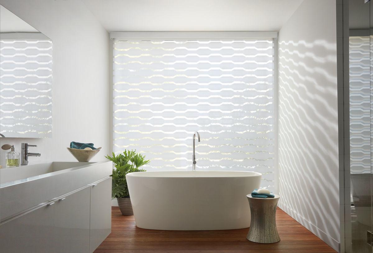 Master Bath Window Fashions
