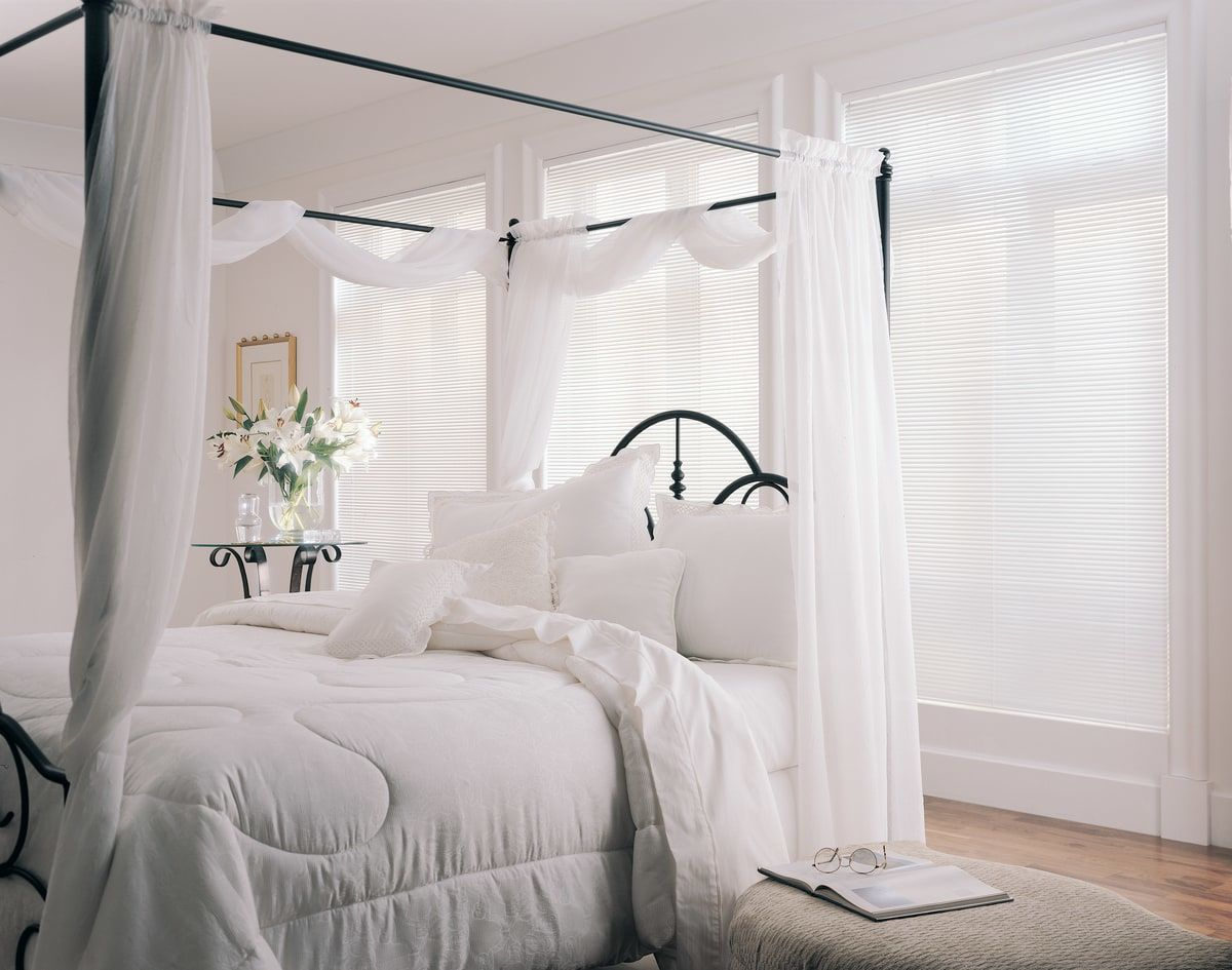 Master Bedroom Sheer Blinds