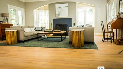 Select White Oak Hardwood Flooring