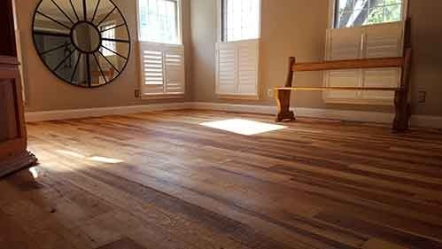 Rustic Hickory Hardwood Floors in Annapolis