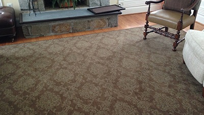 Custom Wool Area Rug from Masland