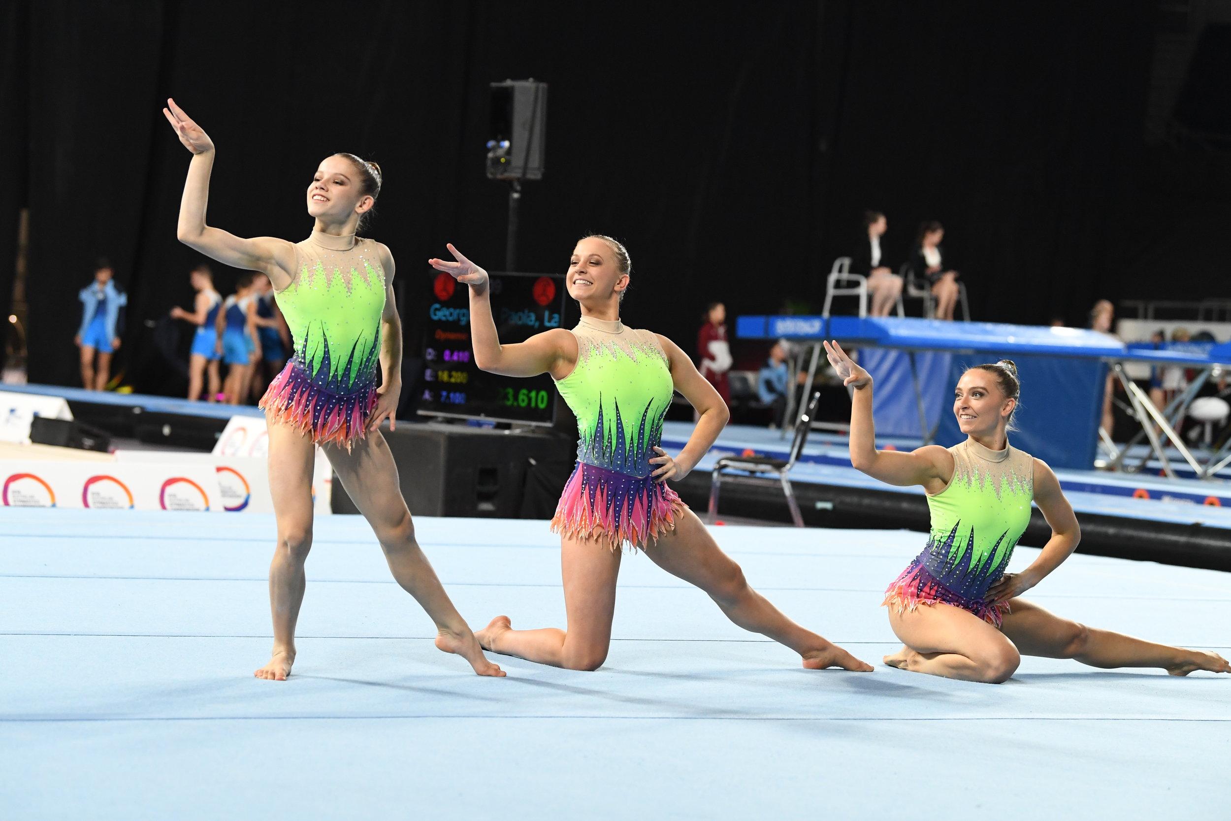 Competitive Acrobatic Gymnastics - ACROBATIC GYMNASTICS LEVELS 1 - INTERNATIONAL