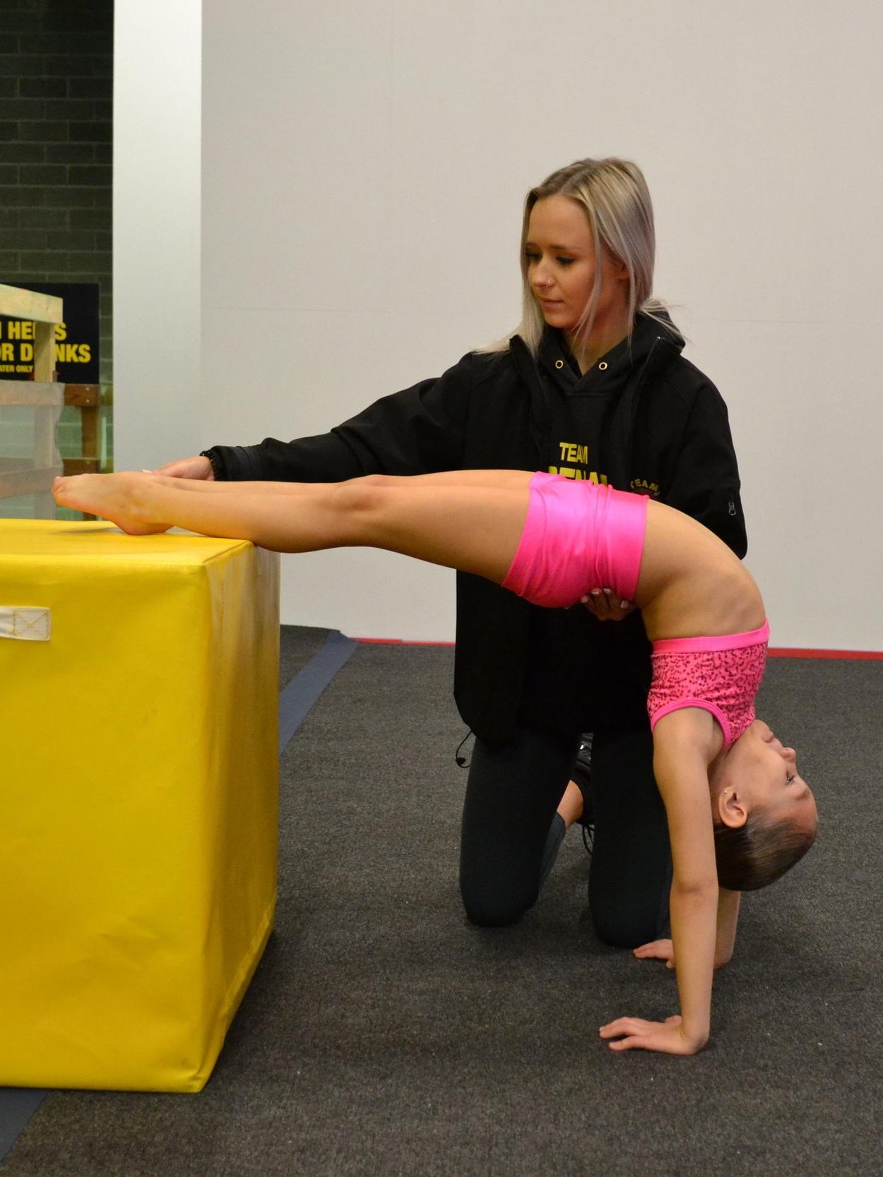 Private acrobatics lessons acro