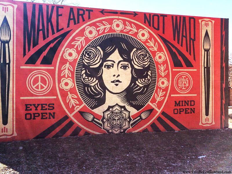 Mural at Santa Fe University of Art and Design