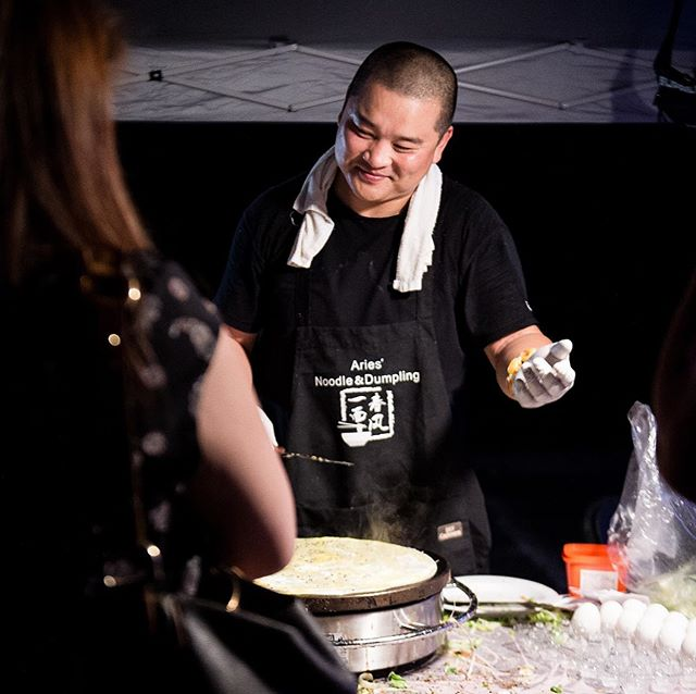 The cravings for traditional street breakfast Chinese crepes is real! As one of the must-try items at Dealmoon Night Market, this savory crepe represents the authentic breakfast food in China🤤 Stop by the Aries Noodle & Dumpling booth to try it out at our next event!! Tickets 🎟 link in bio. · · · · · #boston#bostonfood#bostonfoodies#bostonfoodjournal#bostoneats#massachusetts#newtonma#foodphotography#streetfood#nightmarket#delicious#breakfast#crepes#chinesefood#asianfood