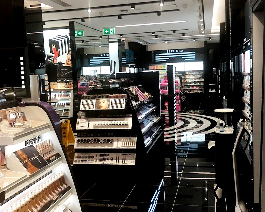 Sephora - In the iconic shopping district of Bourke Street Mall in the heart of Melbourne, this Sephora store is embedded within the existing David Jones store. Being completed in just five weeks to a strict deadline, this project met the challenges of working within an operational retail space and ensuring all works met this prestige retail brand's design and presentation standards. The fitout included two new shopfronts, new point of sale counters, display joinery and back of house and storage areas. The project marks the beginning of Urban Fitouts' expansion to Victoria.