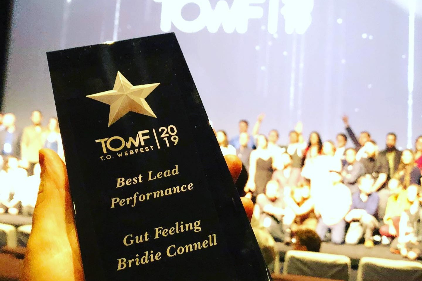 Best Lead Performance win for Bridie Connell in Toronto - LEARN MORE