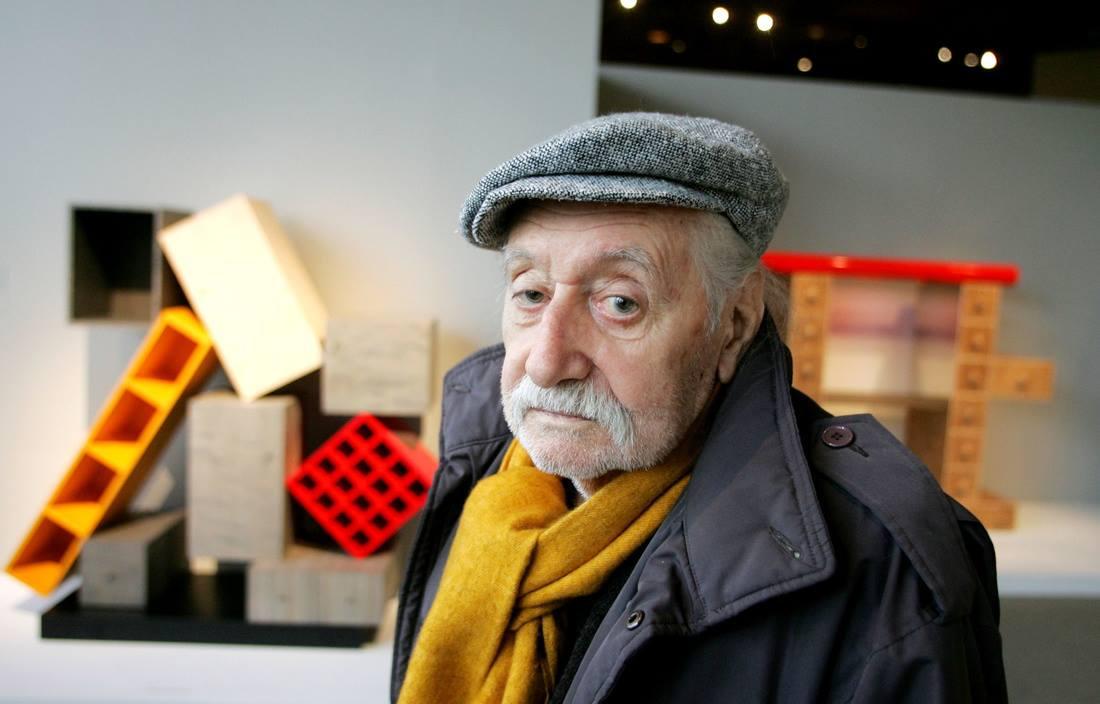Ettore Sottsass - cha đẻ của Memphis, một fan cuồng của Bob Dylan